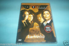 DVD THE X FILES LA VERITE LES LONGS METRAGES + BONUS L'EPISODE WILLIAM