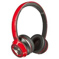 Monster N-Tune w/ ControlTalk On-Ear Headphones Red New