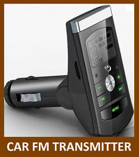 SINGLE CAR MP3 PLAYER AUDIO FM TRANSMITTER BRAND NEW RANDOM COLOUR