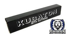 Shihan Dojo Kubotan Key Chain Self Defence - BLACK - Flat End -Hand Held Kubotan
