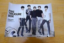 FTIsland Vol. 4 - Five Treasure Box *Official POSTER* KPOP
