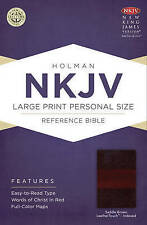 Large Print Personal Size Reference Bible-NKJV by Broadman & Holman...