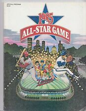 1980 MLB All Star Game Baseball Program Dodger Stadium Unscored LA Dodgers