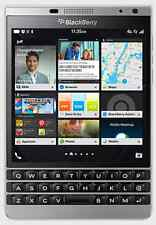 "New Imported BlackBerry Passport 32GB 3GB 4.5"" 13MP 2MP Silver Colour"