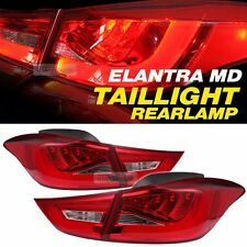 LED Surface Emitting Tail Light Rear Lamp 4pcs For HYUNDAI 2011-2015 ELANTRA MD