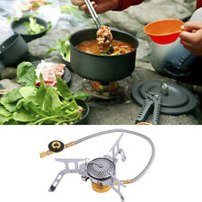 PORTABLE OUTDOOR GARDEN PATIO CAMPING BBQ PARTY FUN STOVE GAS COOKER BURNER