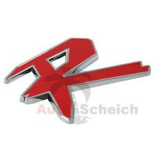 R Emblem Zeichen Chrom Schriftzug Auto Aufkleber Motorhaube Kotflügel Logo 3D