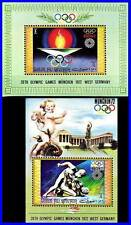 UMM AL QIWAIN 1972 OLYMPIC GAMES in GERMANY 2 S/S  WRESTLING (3ALL)