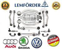 @ LEMFORDER Suspension CONTROL ARMS SET Audi A4 A6 VW Passat B5 C5 4B 8D SUPERB