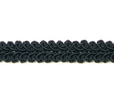 "E1901 ~ BLACK GIMP UPHOLSTERY SEWING CRAFT TRIM 1/2""  VISIT OUR STORE 4000 ITEMS"