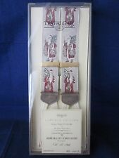 TRAFALGAR Silk Suspenders Braces Santa Old St Nick LE 1990s NEW in BOX