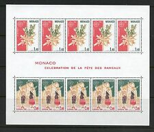 Monaco 1981  #1279A  Palm Sunday   Europa FULL SHEET   MNH I749