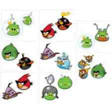 Angry Birds Space Party- temporary Tattoos 16ct