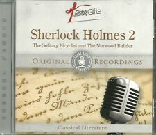 SHERLOCK HOLMES 2 THE SOLITARY BICYCLIST & THE NORWOOD BUILDER CD