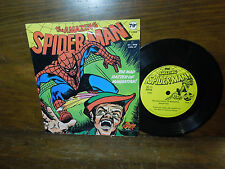Vintage The Amazing Spiderman Mad Hatter of Manhattan Record Power Records