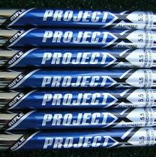 "4-PW NEW 100% AUTHENTIC PROJECT X 5.5 (Stiff Flex) FLIGHTED .355"" TAPER TIP IRON"