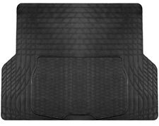 Large Heavy Duty Black Rubber 'Trim Fit' Car Boot Mat Liner for Nissan Qashqai 2