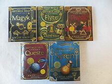 Set of 5 Angie Sage THE SEPTIMUS HEAP SERIES Books 1-5 Harper Trophy 2006