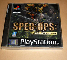 Playstation 1 Spiel Game - Spec Ops: Stealth Patrol - Deutsch komplett PS1
