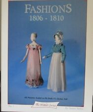 "Miniature Clothing Patterns Book #1 Fit 5 1/2"" Dolls & Heidi Ott  ( 1806-1810 )"