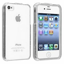 New Crystal Transparent Clear Snap-On Hard Case Cover For Apple iPhone 4 4g 4S