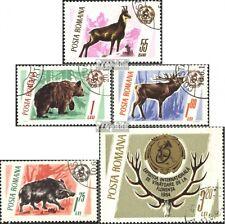 Rumänien 2460-2464 (kompl.Ausgabe) gestempelt 1965 Jagdtrophäen EUR 1,80