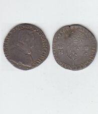 François II au nom d' Henri II (1559-1560)  Demi Teston  argent 1560 Limoges
