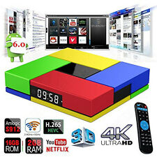 S912 T95K Pro 2G+16G 4K Smart TV Box Android 6.0 Octa Core XGODI Media Player
