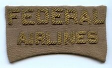 1940's Bullion Cap Badge for Federal Airlines