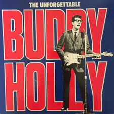 "The Unforgettable Buddy Holly 4×LP box set 12"" 33rpm Germany vinyl record (vg-)"
