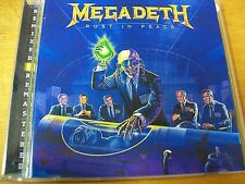 MEGADETH RUST IN PEACE  CD MINT- BONUS TRACKS REMIXED E REMASTERED
