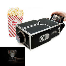 Portable Cardboard Smartphone Projector DIY Cinema for iPhone 6 Android