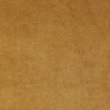 D236 Gold, Solid Durable Woven Velvet Upholstery Fabric By The Yard