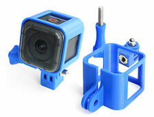 Ultra Light Frame + Tripod Mount f. GoPro HERO 4 Session Rahmen Stativ  Blue