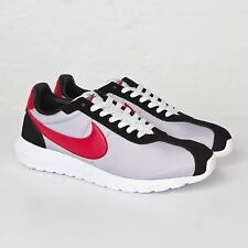 Nike mens trainers Roshe LD-1000 QS Wolf Grey/Varsity Red/Black-Orange size 8