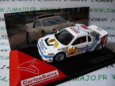 voiture 1/43 IXO altaya Rallye C.SAINZ : FORD RS200 1987 RACE Madrid