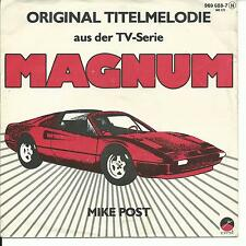 7'Mike Post    Magnum/Hill Street Blues   TV-SERIEN OST!!