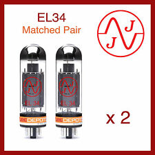JJ Electronics EL34 Power Vacuum Tube Matched Pair - 2 Pieces