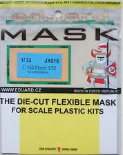 Eduard 1/32 JX016 Canopy Mask for the Hasegawa Fiesler Fi156 Storch kit