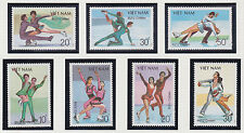 VIETNAM 883/889** PATINAGE ARTISTIQUE, 1988 Vietnam 1979-1985 Skating MNH