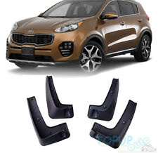 FIT FOR 2017 KIA SPORTAGE MUDFLAPS MUD MOLDED FLAP SPLASH GUARD FENDER MUDGUARDS
