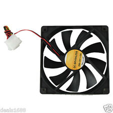 120x120mm CPU Cooling Cooler Fan Computer PC Case Quad Quiet Heatsink Radiator