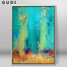GUDI- Modern 100% hand-painted oil painting abstract art decoration Unframed