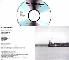 CLOUD NOTHINGS Attack On Memory UK 8-trk numbered promo test CD