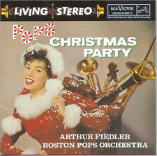 ARTHUR FIEDLER - POPS CHRISTMAS PARTY - CD - Sealed