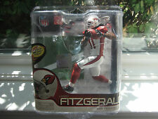 MCFARLANE NFL 27 LARRY FITZGERALD SILVER COLLECTOR LEVEL CHASE #259/1000 LIONS