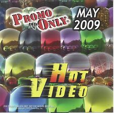 PROMO ONLY- New, DVD HOT VIDEO MAY-2009,Britney Spears,Lady GaGa,Ciara,Pitbull