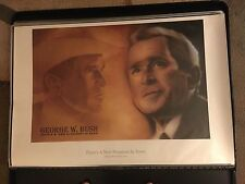 RARE PRESIDENT GEORGE W. BUSH TALKINGPRESIDENTS.COM POSTER 24 X 36 REPUBLICAN