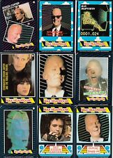 MAX HEADROOM 1987 TOPPS COMPLETE BASE CARD SET OF 44 TV