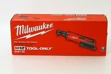 New Milwaukee M12 12 Volt 3/8 Inch Cordless Ratchet Model 2457-20 (Tool only)